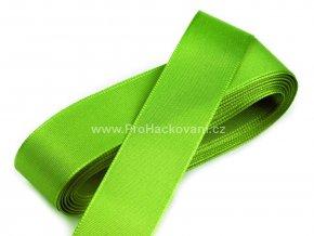 taftova stuha jarni zelena