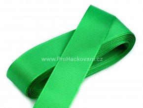taftova stuha zelena