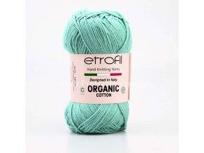 příze Organic Cotton EB055 světlá tyrkysová