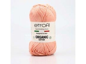 příze Organic Cotton EB046 meruňková