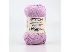 příze Organic Cotton EB047 lila