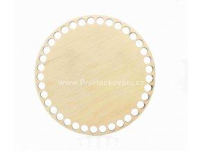 Dno na košík dekor olše kruh Ø 17 cm