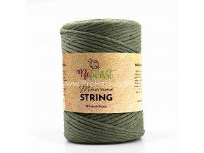 Macrame String 3 mm 16 khaki