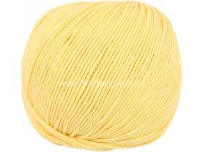 příze Jeans 8187 matná žlutá