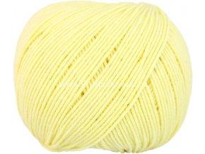 příze Jeans 8176 pastelově žlutá