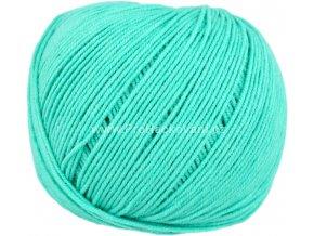 příze Jeans 8138 nefritově zelená