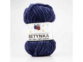 příze Betynka 321 tmavě modrá