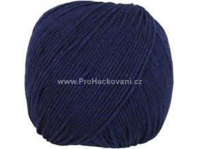 příze Jeans 8121 tmavě modrá