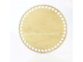 Dno na košík dekor platan kruh Ø 20 cmplatan20