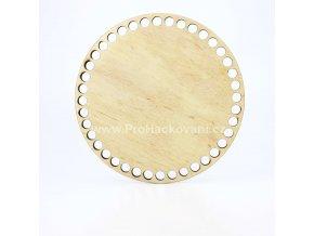 Dno na košík dekor platan kruh Ø 17 cmplatan 17
