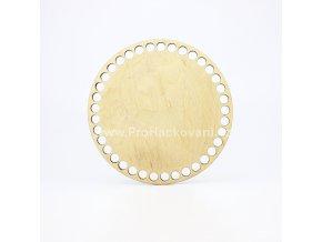 Dno na košík dekor platan kruh Ø 15 cmplatan 15