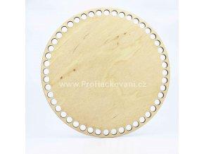 Dno na košík dekor platan kruh Ø 25 cmplatan25 (2)