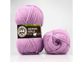 příze Merino Gold 056 fialková