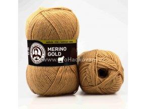 příze Merino Gold 099 karamelová