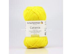Příze Catania 12021 sytá žlutá