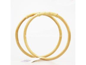 Ucha na tašku bambusová 15 cm