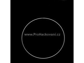 Kovový kruh bílý 20 cm
