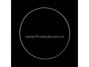 Kovový kruh bílý 30 cm