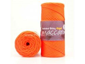 šňůry Abigail 3 mm 14-503 sytě oranžová