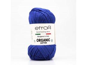 příze Organic Cotton EB057 modrá