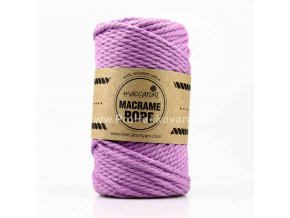 Macrame Rope 4 mm fialová