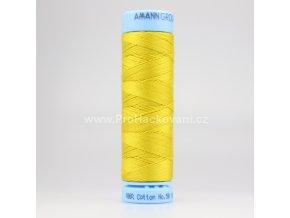 Bavlněná nit 0117 žlutá