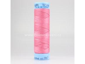 Bavlněná nit 0867 růžová