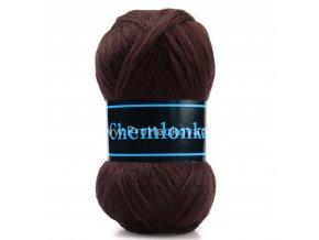 příze Chemlonka 702 tmavě  hnědá
