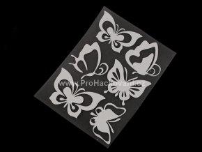 Nažehlovací reflexní folie motiv motýl