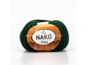 příze Peru 3601 tmavě zelená