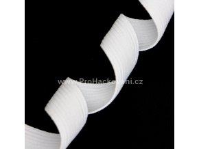 Guma prádlová 30mm bílá