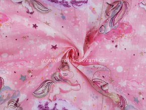Plenkovina jednorožec růžová