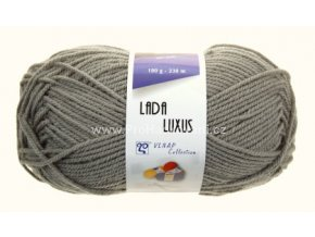 příze Lada Luxus 58060 šedá