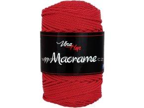 pp Macrame 4021 tmavě červená