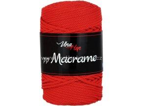 pp Macrame 4008 červená