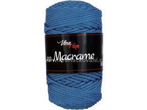 pp Macrame 4601 modrá