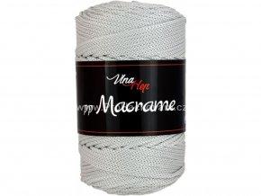 pp Macrame 4235 šedá