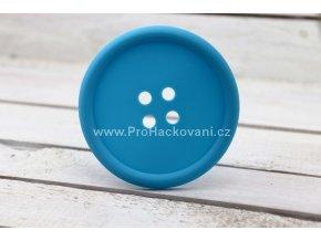 Silikonová podložka knoflík 9 cm modrá