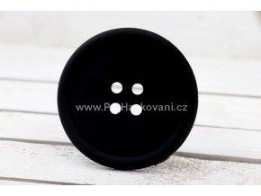 Silikonová podložka knoflík 9 cm černá