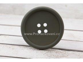 Silikonová podložka knoflík 9 cm šedá