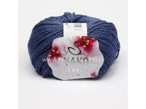 příze Fiore 4366 modrá