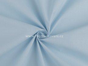Bavlněná látka modrá pomněnková