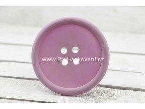 Silikonová podložka knoflík 9 cm lila