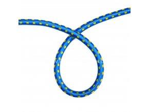 Lano pružné modré 5 mm