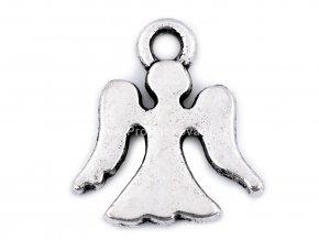 Přívěsek anděl 14 x 15 mm