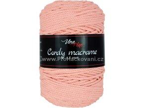 Cordy macrame 2,5 mm 8011 meruňková