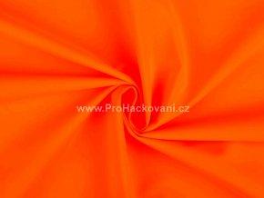 Letní softshell neon oranžový