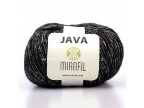 Java 02 černá melange