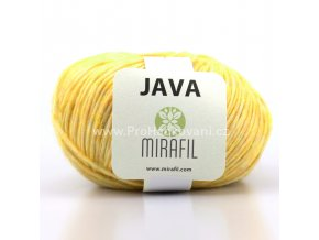 Java 99 žlutá melange