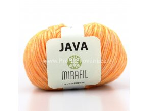 Java 71 oranžová melange